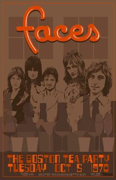 Faces 1970 Tour Poster