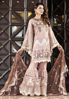 Zoya Anarkali Lehnga – LebaasOnline Malikah Boutique by Lebaasonline on Wedding Lehnga, Asian Wedding Dress, Blue Wedding Dresses, Wedding Suits, Clothing Studio, Pakistani Designer Suits, Pakistani Street Style, Bridesmaid Outfit, Indian Gowns