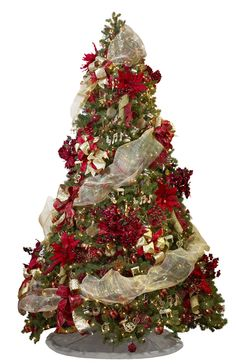decorated christmas trees | ... color to their Holiday Melody theme tree. Photo Courtesy of Fortunoff