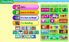 Knowing that how much a child reads is correlated with how well they read, it is important to provide many opportunities for independent reading, especially of books of their own choosing. Providing a range of genres and formats is a great strategy, as is using a resource like Starfall. Students can choose from a selection of digital books that can be accessed at home or school and are supported by visual and auditory prompts.