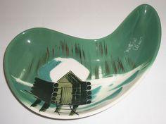 Matthew Adams Pottery Alaska Series Jawbone Bowl!