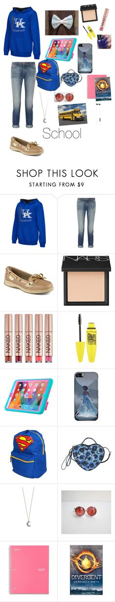 """""""Untitled #138"""" by i-found-wonderland ❤ liked on Polyvore featuring Colosseum, J Brand, Sperry, NARS Cosmetics, Urban Decay, Samsung, Marc by Marc Jacobs and Urbanears"""