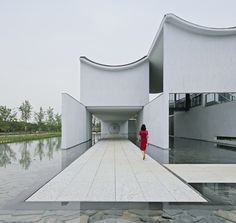 Image 23 of 40 from gallery of Dongyuan Qianxun Community Center / Scenic Architecture Office. Photograph by Su shengliang