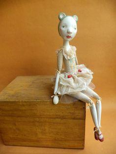 Ema, Art Doll by Petuqui. On Etsy.