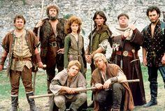 """Robin of Sherwood"" - British TV Series Jason Connery, Robin, Richard Carpenter, Maid Marian, Theme Tunes, King Richard, Clannad, Fantasy Movies, Sherwani"