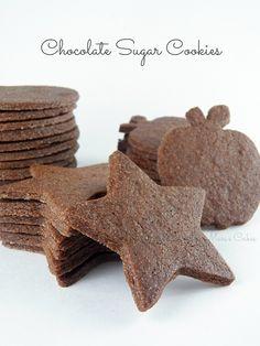 Mari's Cakes: Galletas de Chocolate para Decorar
