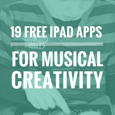 19 Free iPad Apps for Musical Creativity: Play, Improvise and Record Music Really, there are so many apps available it can be hard to know where to begin and once you find something that looks useful, it& difficult to assess Music Lesson Plans, Music Lessons, Apps For Teachers, Music Teachers, 2015 Music, Music Classroom, Future Classroom, Piano Teaching, Elementary Music