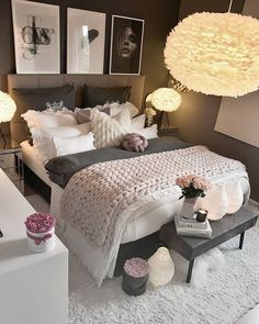 Bedroom Dresser Styling Layout Paint Colors 16 New Ideas Small Room Bedroom, Trendy Bedroom, Bedroom Colors, Home Bedroom, Girls Bedroom, Bedroom Decor, Bedroom Ideas, Bedroom Makeovers, Teen Bedrooms
