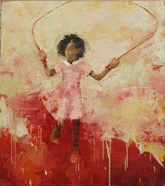"Love her work......Rebecca Kinkead ""Jump No. 9"""