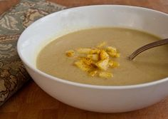 Curried Apple Soup.