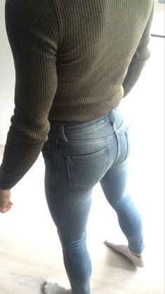 Ripped Jeans Men, Boys Jeans, Super Skinny Jeans, Skinny Legs, Casual Outfits, Men Casual, Denim Outfit, Skin Tight, Looks Style