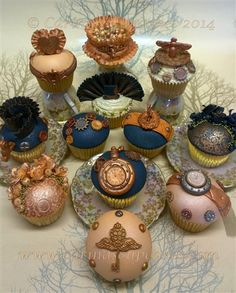 'The Steamstress and The Punk' Couture Cupcake Collection