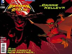 Week 2 Batman and Robin 19 WTF April 2013 Gatefold Cover Dark Knight Returns Carrie Kelley