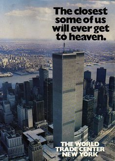 The World Trade Center New York.