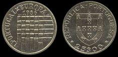 25 Escudos - Cupro Níquel, 1986