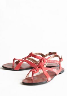 Crossing Paths Sandals $32.99