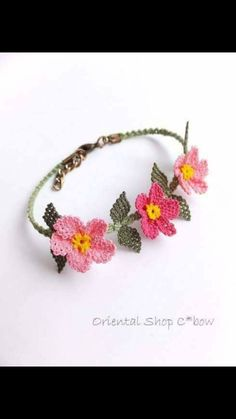 This Pin was discovered by Gül Tea Design, Point Lace, Needle Lace, Textile Jewelry, Crochet Fashion, Crochet Accessories, Handmade Flowers, Crochet Flowers, Tatting