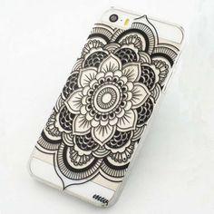 Coque mandala noir Iphone 5-5S-6