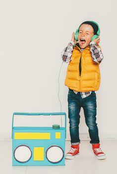 Hipster DJ Costume for Kids
