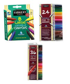 Look at this #zulilyfind! Markers & Crayons Coloring Set #zulilyfinds