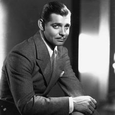 Clark Gable.  The worlds first real leading man.  Rhett made a living prospecting and boot legging during the war, but frankly audiences and Scarlett alike never gave a damn.  I'm not sure that the man is who Mitchell had in mind when she wrote the epic novel Gone With The Wind, but I'm equally unsure anyone reading the novel after the film could bare imagining another face.