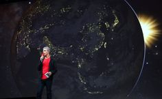 Google Escalates the Competition in Map Services...   Larry Page, chief executive, says the new maps have a cleaner and more intuitive layout. By CLAIRE CAIN MILLER