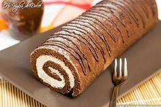 Rotolo al cacao con crema al mascarpone e caffè, ricetta   Ho Voglia di Dolce