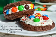 Make Someone Smile with #BakingIdeas Inspired by M&M's #shop #cbias