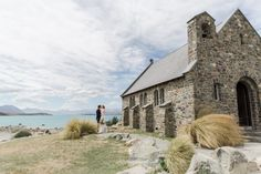 An epic Lake Tekapo wedding, surrounded by mountain views and lupins at the height of spring. Married in the Church of the Good Shepherd. So many colourful summer blooms created the backdrop for so many bridal portraits! Wedding Make Up, Summer Wedding, Wedding Bride, Wedding Styles, Wedding Photos, Wedding Vendors, Weddings, Lake Tekapo, Anna