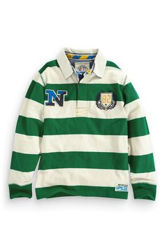 Buy Stripe Rugby Shirt (3-16yrs) from the Next UK online shop