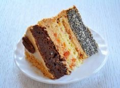 """Tort """"Capriciul doamnei"""". Ador acest desert excepțional! - Bucatarul Romanian Desserts, Something Sweet, Meatloaf, Banana Bread, Cake Recipes, Bakery, Sweet Treats, Cooking Recipes, Sweets"""