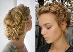 How To Style A Low Braided Updo Fashionisers Com Tempted By