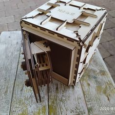 Diy Easel, Box With Lid, Laser Cutting, Cnc, Construction, Free, Ideas, Wood Laser Engraving, Building