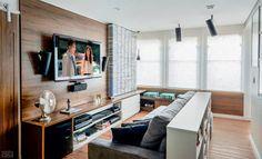 Apartamento com cinema em casa, cozinha gourmet e hall surpreendente - Casa