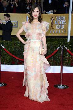 Rose Bryran, SAG Awards 2013 Red Carpet