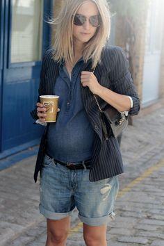 Dicas para grávidas usarem roupas que já têm no armário - Just Real Moms - Blog para Mães