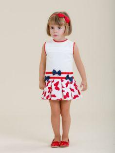 Vestido niña estampado mariposas - Marketplace social de tiendas para niños de 0 a 14 años