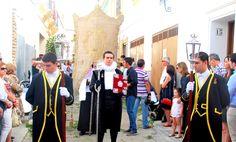 Así era la antigua procesión del Corpus en Marchena
