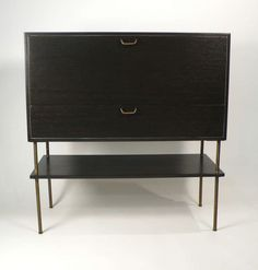 Harvey Probber Bar | From a unique collection of antique and modern cabinets at http://www.1stdibs.com/furniture/storage-case-pieces/cabinets/