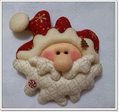 1 million+ Stunning Free Images to Use Anywhere Primitive Christmas, Felt Christmas, Christmas Stockings, Christmas Crafts, Xmas, Christmas Ornaments, Santa Decorations, Toy Craft, Felt Diy