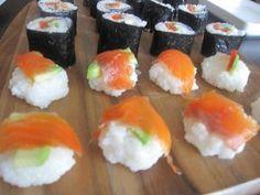 Sushi a la Saana Kotikoki.netin nimimerkki Ristimasin ohjeella