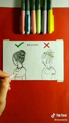 3d Art Drawing, Art Drawings Sketches Simple, Girl Drawing Sketches, Cute Easy Drawings, Girly Drawings, Art Drawings Beautiful, Art Drawings For Kids, Pencil Art Drawings, Drawing Ideas List