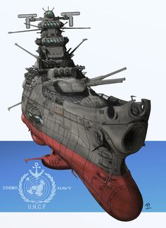 Space Battleship Yamato 2199 http://www.pixiv.net/member_illust.php?mode=medium&illust_id=33823581
