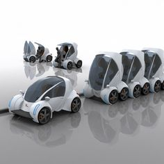 Stackable Car...could be useful in a city area.  SpicyTec: 10 Amazing Cars Concepts to Drive us into Future