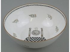 Chinese Export Masonic bowl, the - Miller's Antiques & Collectables Price Guide