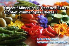 Voici notre liste de 11 recettes light en calories et en prix qui vous permettront de mincir tout en vous faisant plaisir !  Découvrez l'astuce ici : http://www.comment-economiser.fr/minceur-recettes-light-pas-cheres.html?utm_content=bufferb89ec&utm_medium=social&utm_source=pinterest.com&utm_campaign=buffer