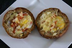 Eierbroodje uit de Airfryer