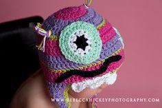 Little Miss  Frilly crochet MONTSTER girl by littlemissfrilly, $22.95