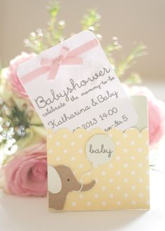 babyshower invitation