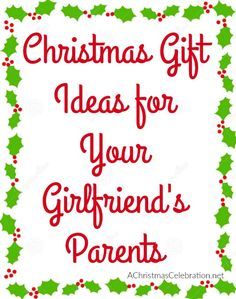 christmas gifts for your girlfriends or even boyfriends parents gifts for boyfriend parents